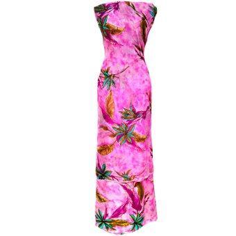 Cotton & Silk Fabric Kain Ela Meter Baju Kurung Chiffon Matching Valentino Crepe 510a
