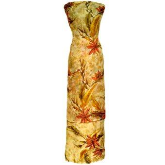 Cotton & Silk Fabric Kain Ela Meter Baju Kurung Chiffon Matching Valentino Crepe 510b