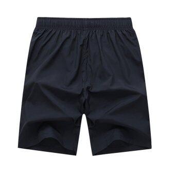EcoSport Men Sports Gym Quick Dry Short Pants Beach Surfing Sweatpants (Orange)
