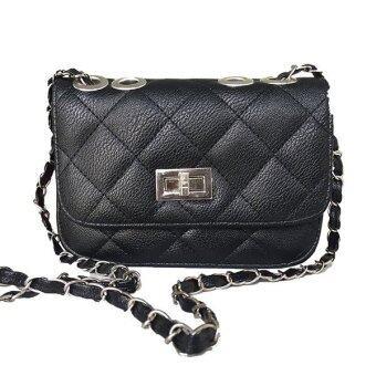 Elegant Quality PU Leather Sling Crossbody Handbag
