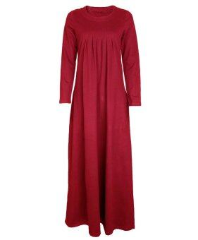 Era Maira - Divar long dress abaya for Muslimah (Red)