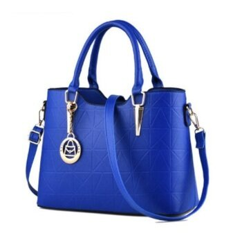European Fashion Ladies Casual Shoulder Messenger Bag | Tote Bag |Backpack | Set Bag Collection - Blue