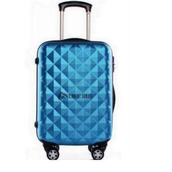 FARMIE: 20 inch Diamond Travel Luggage Blue