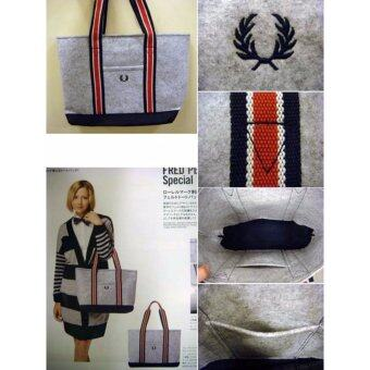 FRED PERRY MOOK SPRING AUTUMN WINTER MOOKS TOTE BAG - 4