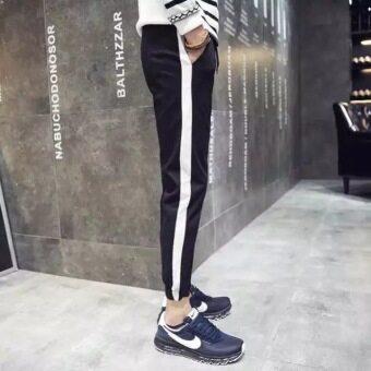Han Fan son tide men's trousers (black) - 4