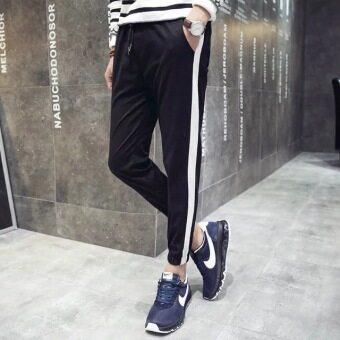 Han Fan son tide men's trousers (black) - 2