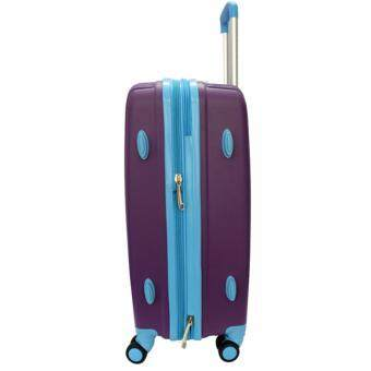 Handry 20 inch Anti-Break PP Hard Case Trolley (Purple Blue) - 4