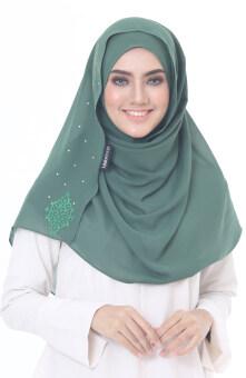 Hijab Fesyen Chenta Instant Shawl Green