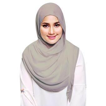 [Hijab&Me] Fasha Sandha by Milyunir Eadi - Silver