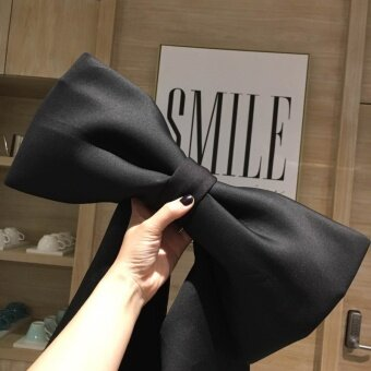 Hong Kong flavor retro chic style concave style ribbonbag cute Butterfly knot hand to get space cotton handbag bag female tide