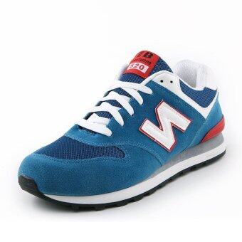 Hot Sale 2017 Spring Autumn Running Shoes for Men Breathable LowTop Sport Shoes(blue)