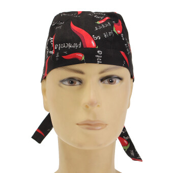 Harga Pirate Skull Cap Chef Hat Professional Catering Various Colourful Waiter Chef Pepper