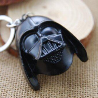 Harga 1pcs Movie Key Chain Star Wars Darth Vader Keychain Men Gift Key Chain Key Holder(OVERSEAS)