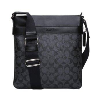 Harga Coach 71877 Bowery Crossbody Signature - Black