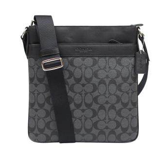 Harga Coach F71877 Bowery Crossbody In Signature (Black)