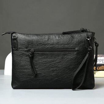Harga Original individual men and women handbags zipper design hand bag hand bag business envelope bag package