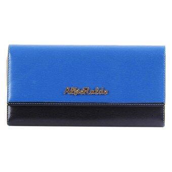 Harga Alfio Raldo Duo Tone Long Purse Blue