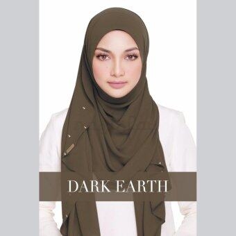 Harga [Hijab&Me] Naelofar Hijab Lady Warda - Dark Earth