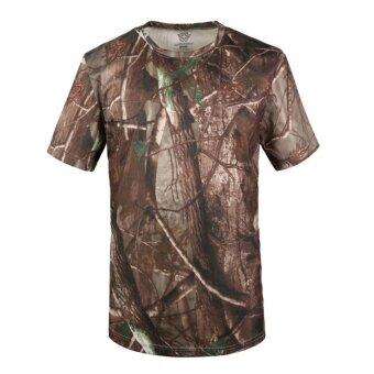 Harga Men's Tops Tees 2016 Summer Military Short Sleeve Outdoor Trend Fitness Training Army Tactical T-shirt