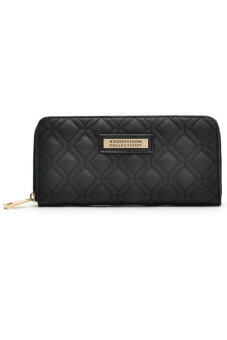 Harga Kardashian Kollection Quilted Long Purse Wallet