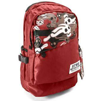 Harga Hotto Windo Skull Logo Camouflage Backpack