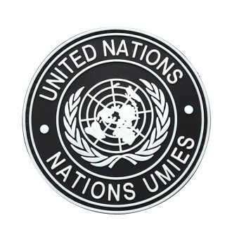 Harga International United Nations Genuine Shoulder Patch Badge Black