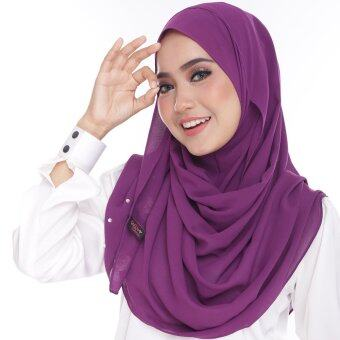 Harga Limited Edition Rosabelle Exclusive Hijab - Purple Jam