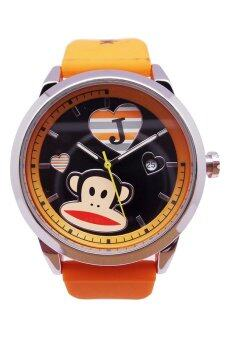Harga Paul Frank Quartz Rubber Orange Watch PFFR1233-01D