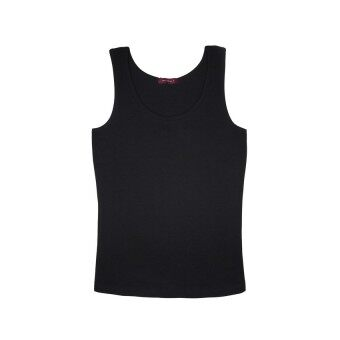 Harga F.O.S NAVY & NAVY WOMEN BASIC BLACK TANK TOP