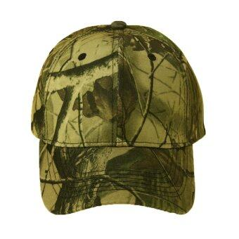 Harga Unisex Camouflage Wild Hiking Army Camo Tactical Baseball Cap(Army Green)