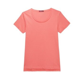 Harga F.O.S NAVY & NAVY WOMEN BASIC PEACH TEE