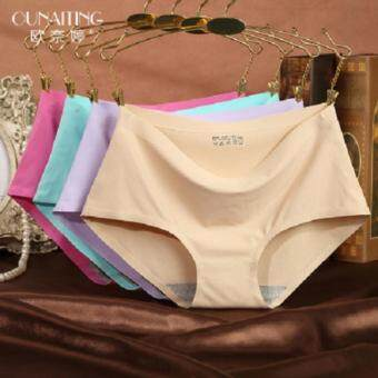 Harga HOT SALES - Set Silk Seamless Panties Mutilcolor