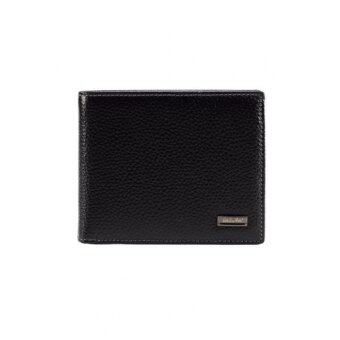 Harga Valentino Rudy Italy Men's Lychee Texture Leather With Rope Stitch (Black)