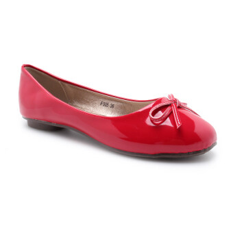 Harga COMO F005 Women Flats Red