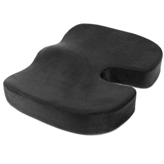 Harga Memory Foam U-shaped Nice Bottom cushion (black / total)
