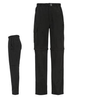Harga Karrimor Mens Aspen Zip Off Walking Hiking Full Length Trousers Pants Bottoms Bl
