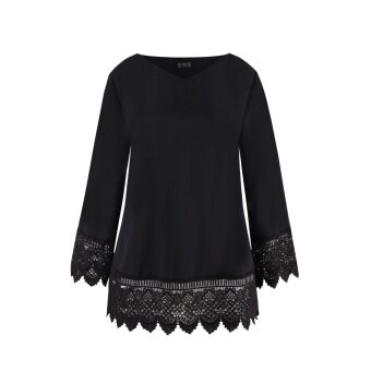 Harga MS. READ Embroidered Top (Black)