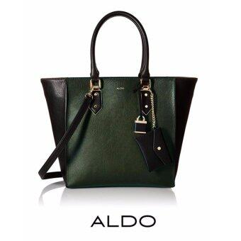 Harga AUTHENTIC ALDO AMETRINE LARGE SATCHEL (DARK GREEN)