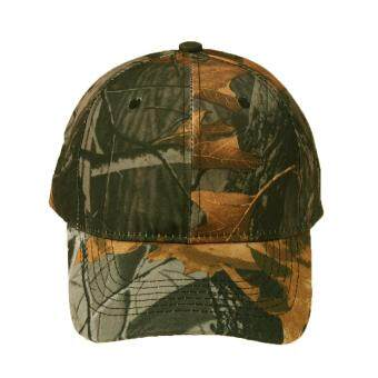 Harga Unisex Camouflage Wild Hiking Army Camo Cap Tactical Baseball Cap(Black)