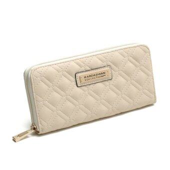 Harga Kardashian Kollection Quilted Wallet (White)