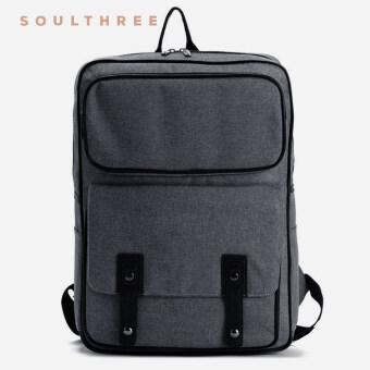 Harga SOULTHREE Tech Oxford Stanton Backpack (Coal)