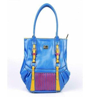 Harga AR by Alfio Raldo AB-2061 Tote Bag Blue