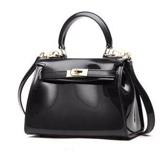 Harga Candy Jelly Kelly Top Handle Bag Black