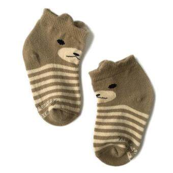 Harga BABY PONEY LITTLE BEAR SOCKS (DARK BROWN)