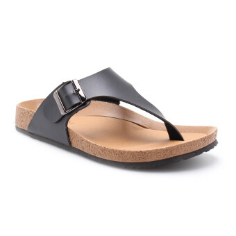 Harga COMO I1001 Men Sandal Black
