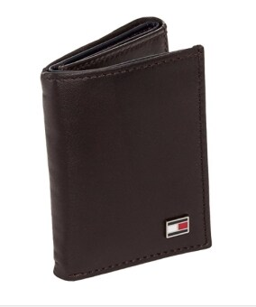 Harga Tommy Hilfiger Men´s Genuine Leather Oxford Slim Trifold Wallet