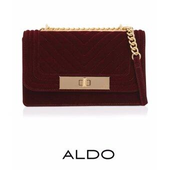 Harga AUTHENTIC ALDO VIBOVELENTIA CROSS BODY BAG (BURGUNDY)