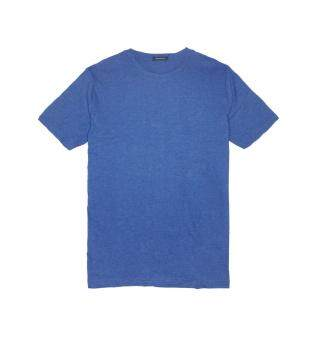 Harga F.O.S NAVY & NAVY MEN'S BASIC MELANGE NAUTICAL BLUE TEE