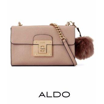 Harga AUTHENTIC ALDO CHAIN CROSS BODY BAG (TAUPE)