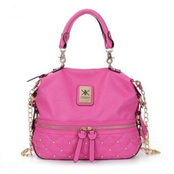 Harga Kardashian Kollection Semi Quilted Design Shoulder Bags (Pink)